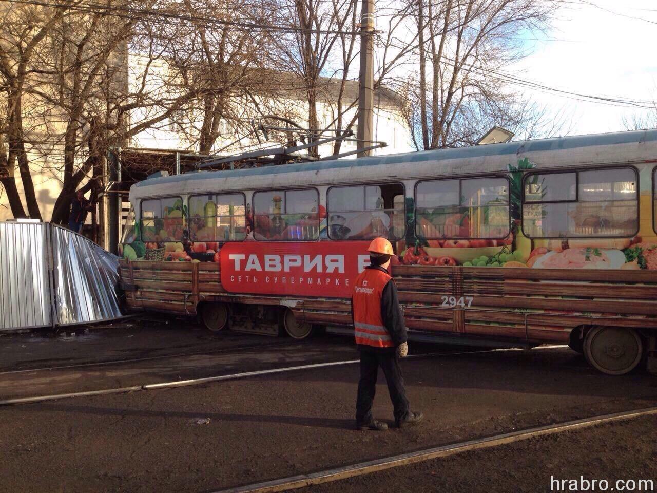 image79 На Старосенной площади трамвай задавил пешехода