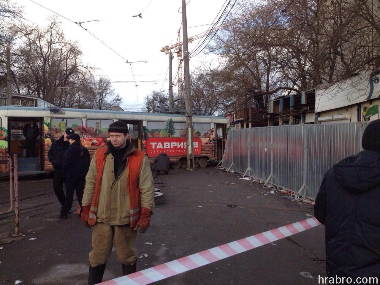 image81 На Старосенной площади трамвай задавил пешехода